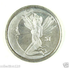 British Virgin Islands Coin $1 2012 UNC, The Goddess of Fertility - JUNO FEBRUA