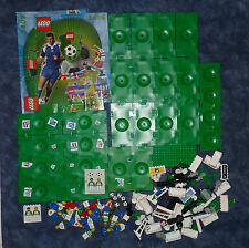 Lego Sports Soccer Football spare parts figures 3414 3409 3413 pitch footballs