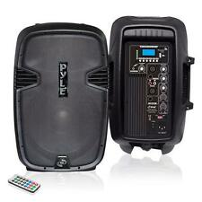 New  PylePro PPHP1037UB 10'' 700 Watt Powered Two-Way Speaker With MP3/USB/SD/B