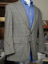 JOS A BANK Multi Color Gun Club Check Wool Sport Coat Mens Blazer Jacket 42 43 R