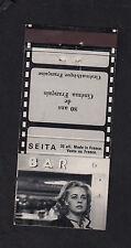 Ancienne pochette allumettes France bn10190  Film Ascenseur pour l'échafaud