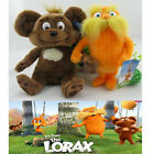 """Set of 2PCS New Dr. Seuss The Lorax Plush Toys Dolls Baby Gift Size 9"""""""