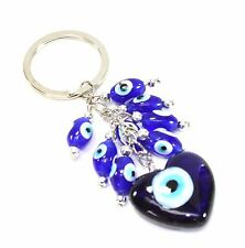 Turkish Evil Eyes Love to Mother Keychain with Luck Blessing and Protection Gift
