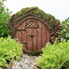Hobbit Door ~ Round Fairy Door ~ Fairy Garden Miniature ~ Accessory by Jennifer