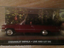 JAMES BOND COLLECTION - CHEVROLET IMPALA - LIVE AND LET DIE