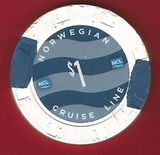 NCL...  $1.00 Casino Chip...  ms NORWEGIAN  PEARL... cruise ship
