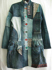 Desigual women's coat, size 44 (UK 16)