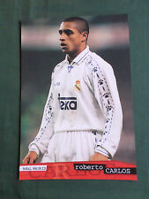 ROBERTO CARLOS - REAL MADRID - 1 PAGE PICTURE - CLIPPING /CUTTING