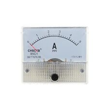 85C1-A Analog Current Panel Meter DC 5A AMP Ammeter AD