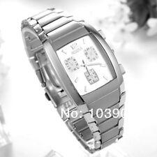 Pair Elegence Fashion Men watch Stainless Steel Quartz Wrist Watch