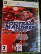 Football Manager 2008 Nuevo precintado Xbox 360 Live fútbol soccer en castellano