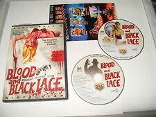 Blood And Black Lace Mario Bava dvd 2005 - 2 dvd NTSC Region 0 - no booklet