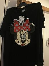 Disney Minnie Mouse Sequin t Shirt 20