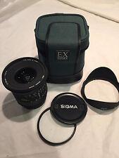 Sigma EX 17-35mm f/2.8-4 HSM AF Lens For Canon includes case