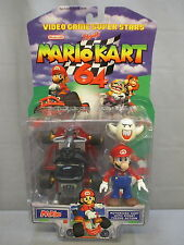 "2000 Toy Biz Mario Kart 64 ""MARIO"" w/ Ghost *NEW* Nintendo Video Game Superstars"