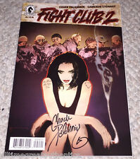 FIGHT CLUB 2 #9 COMIC BOOK HAND SIGNED BY CHUCK PALAHNIUK AUTHOR COA DARK HORSE!