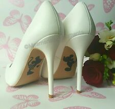 Calcomanía de Zapatos de boda de Disney/Mickey & Minnie Mouse/felizmente Ever After