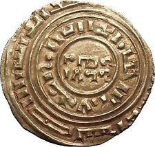 Crusader Latin Kingdom of Jerusalem 1148Ad Medieval Gold Bezant Coin i53475