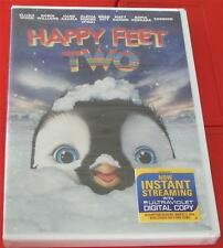 NEW UNOPENED DVD Video, Happy Feet Two, Elijah Wood, Robin Williams NEW