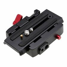 Quick Release Adapter Sliding QR Plate for Manfrotto 577- 501HDV, 500AH, 701HDV
