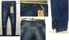 Jeans Femme Boohoo Destroy Skinny Taille Haute 38 Levis Temps Des Cerises