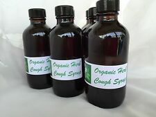 ORGANIC COUGH SYRUP Cough Spasms and Flue Symptoms