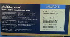 Millipore MultiScreen Solvinert Deep Well Filter Plates #MDRLN0410 Pk/10