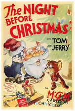 THE NIGHT BEFORE CHRISTMAS Movie POSTER 27x40