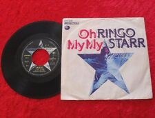 "Single 7"" Ringo Starr - Oh my my / Step lightly"