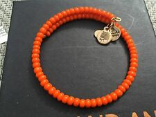 ALEX and ANI VINTAGE 66 Natural Wonders SUNRISE Orange CANOPY GOLD Beaded Wrap