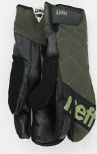 New Neff Mens Klaw Snowboard Mitts Large Olive