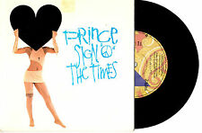 "PRINCE - SIGN O THE TIMES - 7"" 45 VINYL RECORD PIC SLV 1987"
