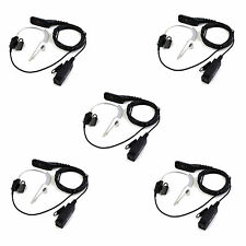 5PcsHeadset PTT MIC Earpieceof Motorola XPR6000/6550/DP3400/XIRP8268APX Radio co
