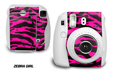 Custom Skin Sticker Wrap Decal For Fujifilm Instax Mini 8 Instant Camera ZEBRA