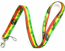 New 10 Pcs Bob Marley Mobile Cell Phone Lanyard Neck Straps Pary Gifts V347