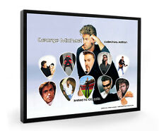 George Michael Limited to 100 Framed Guitar Pick Display