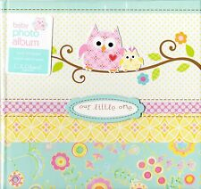 C.R. Gibson Slim Bound Photo Journal Album Happi Baby Girl BP1-9022 Dena Designs