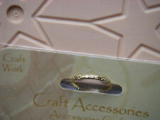30 Large PATTERNED Gold JUMP RINGS / Wedding Rings 20mm NEW Bargain CLEAROUT