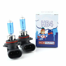 BMW 5 Series E39 530d HB4 80w Super White Xenon HID Front Fog Light Beam Bulbs