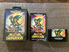 Alisia Dragoon (Sega Genesis) Complete - Tested - See pictures