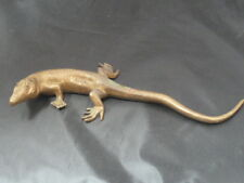 VIENNA BRONZE ANTIQUE  ALLIGATOR REPTILE SNAKE ART STATUE SCULPTURE MONITOR