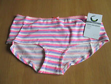 Marks & Spencer cotton with stretch low rise short style knickers size 14/16