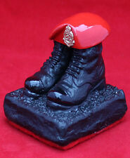 Royal Military Police  boots and beret