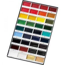 Kuretake Gansai Tambi 36 Color Japanese Traditional Solid Water Color paint