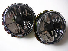 VW Rabbit Golf MK1 1 Beetle Clear Euro E-Code Sport Headlight Headlamp Crosshair