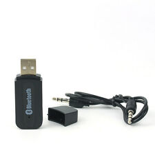 Wireless Bluetooth v2.1 Music Transmitter 3.5mm Stereo Audio Adapter USB Dongle