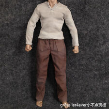 1/6 scale fighter prison clothes suit special soldier shirt pants fit Adkins