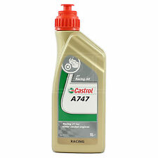 Castrol Racing A747 Semi-Synthetic Castor Oil Blend 2T 2 stroke oil 1 Litre 1L