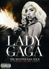 Lady Gaga: The Monster Ball Tour at Madison Sq (2011, DVD NEUF) Explicit Version