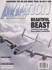 Aviation History (July 2009) (Lockheed Constellation, Eric Brown, F-100 Viet.)